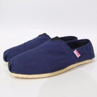 Sepatu Wakai Navy Blue / Biru Dongker Grade Original