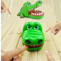 Harga crazy crocodile dentist toys mainan gigi buaya running man | antitipu.com