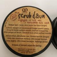 Wisdom Shop Scrub Daun 50gr | 100% Natural, Face Scrub