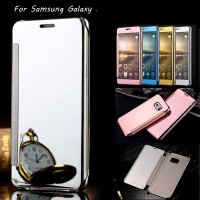 Samsung Galaxy A9 Pro Duos 2016 Case Flip Mirror Cover