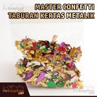 Master Confetti Taburan Kertas Metalik / Konfeti / Semprotan