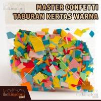 Master Confetti Taburan Kertas Warna / Kertas Tissue