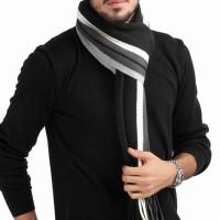 Terlaris Syal Pria Khasmir untuk musim salju