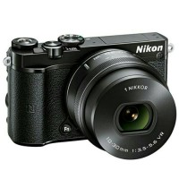 New Kamera Mirrorless Nikon 1 J5 Lensa Kit 10-30mm Garansi 1 Tahun