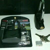 Gembok Besar / Alarm Lock KINBAR / Panjang