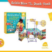 GoldieBlox with the Dunk Tank