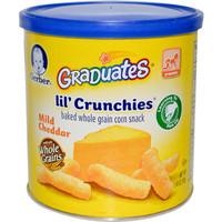 Gerber Graduates Lil' Crunchies Mild Cheddar ..
