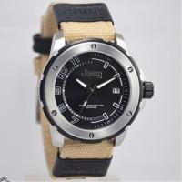 Jam tangan pria Jeep JPW65001 original silver/black