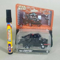 mainan action vigure Cars mater as darth vader Starwars diecas