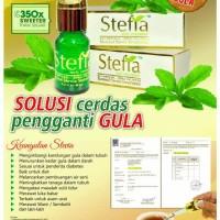 Pemanis Alami STEFIA cair | Gula Tanpa Kalori Stevia
