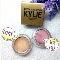KYLIE OMBRE - Eyeshadow Eye Cream / Creme Shadow Rose Gold & Copper