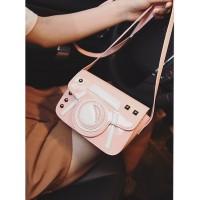 tas jinjing shopping bag selempang pink instagram wanita ootd blogger