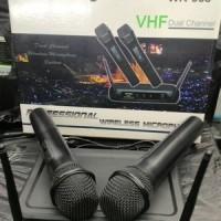 harga Mic Wireless Jueshiy WR-368 2 Pegang/Microphone Jueshiy WR 368 Wireles Tokopedia.com