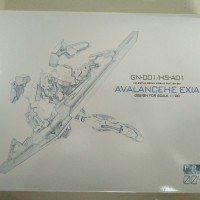 FPM 1/100 MG Avalanche Exia Custom Weapon Gundam Universal Plane
