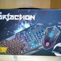 Keyboard & Mouse Gaming Rexus Warfaction Vr1