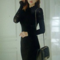 Mini Dress Import Lace size S