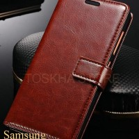 Samsung A3 2016 Leather Flip Wallet Case Cover