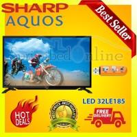 "SHARP AQUOS 32""/32 Inch LED TV 32LE185 USB - HARGA PABRIK"