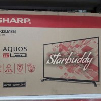 Sharp Aquos LED 32 Inch 32le185i ~ USB Movie ~ Garansi 3thn