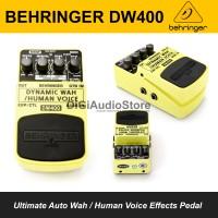 Behringer DYNAMIC WAH DW400 Auto Wah Efek Pedal / Stompbox Bass Gitar