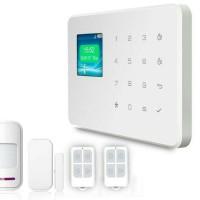 LCD Home Alarm System GSM Wireless Smart Security Rumah Apartemen Ruko