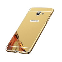 Bumper Mirror Sliding Case Samsung Galaxy A3 2016/A310 - Gold