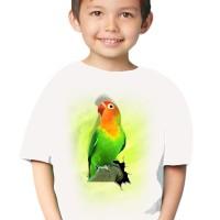 harga Kaos 3d Elengant Murah Kids Burung Love Bird Fold Putih Tokopedia.com