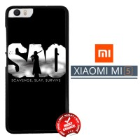 Sword Art Online Anime Japan Z0359 Xiaomi Mi5 / Mi 5 Casing Premium H