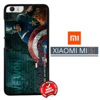 Captain America Wallpaper X2942 Xiaomi Mi5 / Mi 5 Casing Premium Hardc