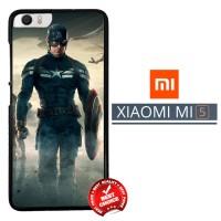 Captain America Uniform WALLPAPER Y1214 Xiaomi Mi5 / Mi 5 Casing Premi