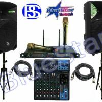 Paket Sound System Indoor Outdoor (12 inch) Yamaha + Mackie