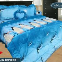 sprei my love california penguin emperor/sepre/mylove/pinguin