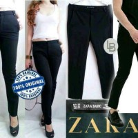 harga Zara celana panjang basic trouser Branded murah Tokopedia.com