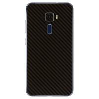 9Skin - Premium Skin u/ Case Asus Zenfone 3 ZE520KL - 3M Black Carbon
