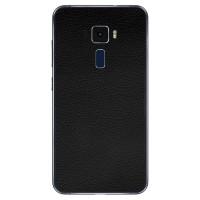 """9Skin-Premium Skin u/ Case Asus Zenfone 3 5.2 / 5.5"""" -3M Black Leather"""