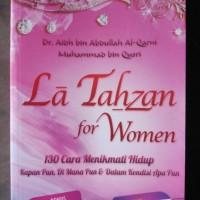 Buku La Tahzan For Women 130 Cara Menikmati Hidup
