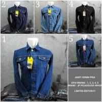 Jual Jaket Denim Pria / Jaket Levis Cowok / Jaket Jeans Pria Premium Qualit Murah