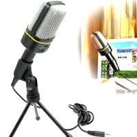 Mic Microphone Mikrophone PC Laptop Skype Gaming Karaoke PROMO MURAH