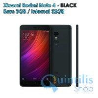 Xiaomi Redmi Note 4 3GB/32GB - Black - Baru NEW - Garansi Distributor