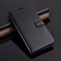 Leather Flip Cover Wallet Sony Xperia Z2 Case dompet casing HP kulit