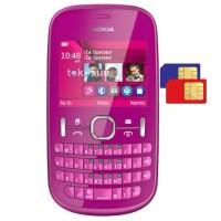 Nokia Asha 200 Pink - Dual Sim QWERTY