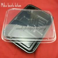 Mika bento/kotak bento hitam