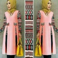 Harga latafa tunik kimora collections tanah | antitipu.com