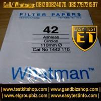 Filter Paper / Kertas Saring   Whatman No.42   1442-110 Murah Banget
