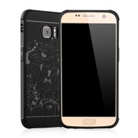 Cocose Case Dragon Samsung Galaxy S7 Flat Original TPU Back Case