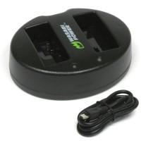 Wasabi Power Dual USB Charger for Canon LP-E6, LP-E6N, LC-E6