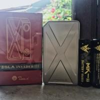 Paket Tesla Invader III + Battery MK-II Authentic.