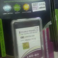 baterai battery himax y11s y11 s Dobel power log on