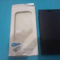 Jual flip cover/ fiuw cover LENOVO K900/ tutup bayrey + tutup lcd lenovo Murah