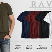 Baju Kaos Pria Henley Oblong Original by RAVA (PROMO BEST SELLER)